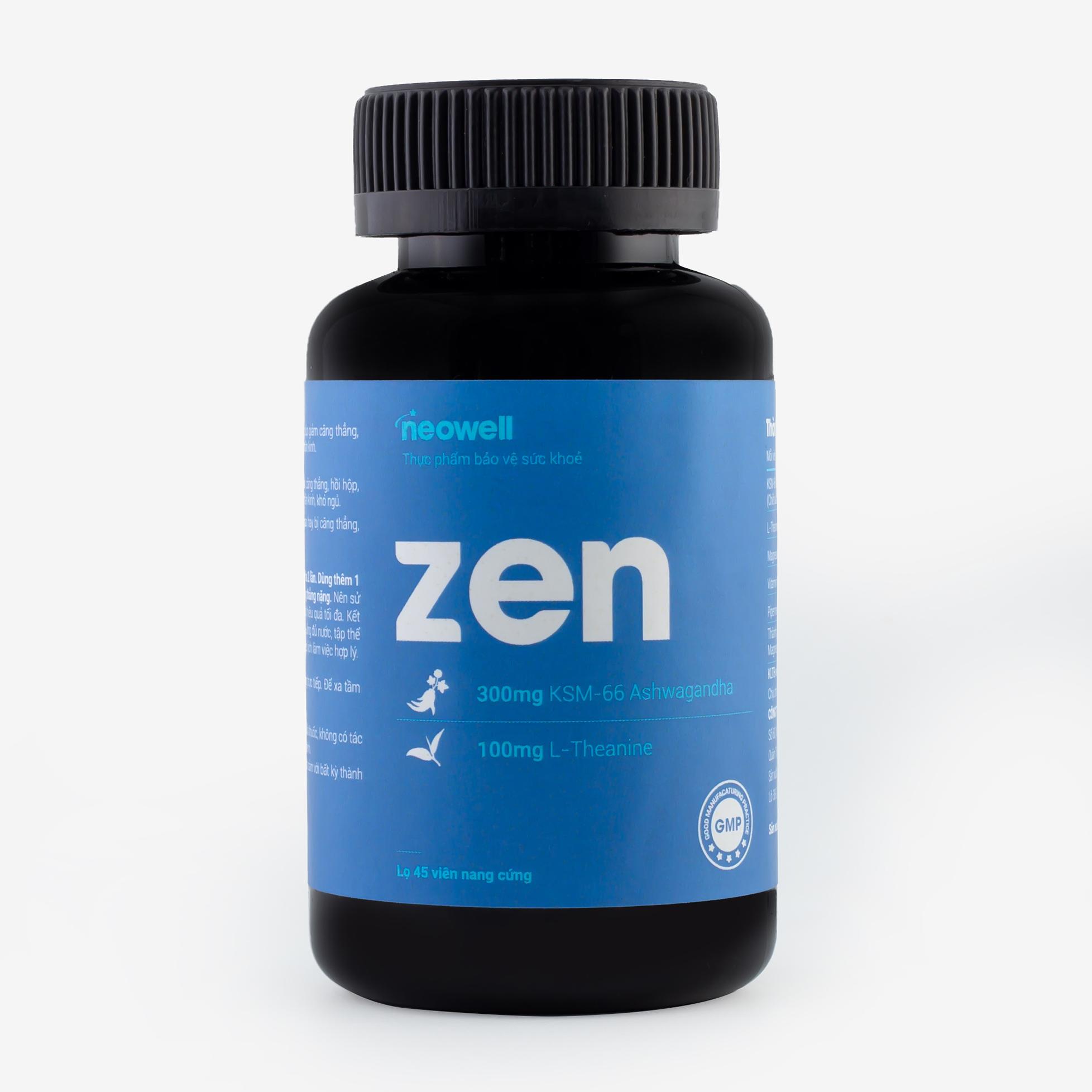ZEN - Sản phẩm giúp hỗ trợ giảm căng thẳng