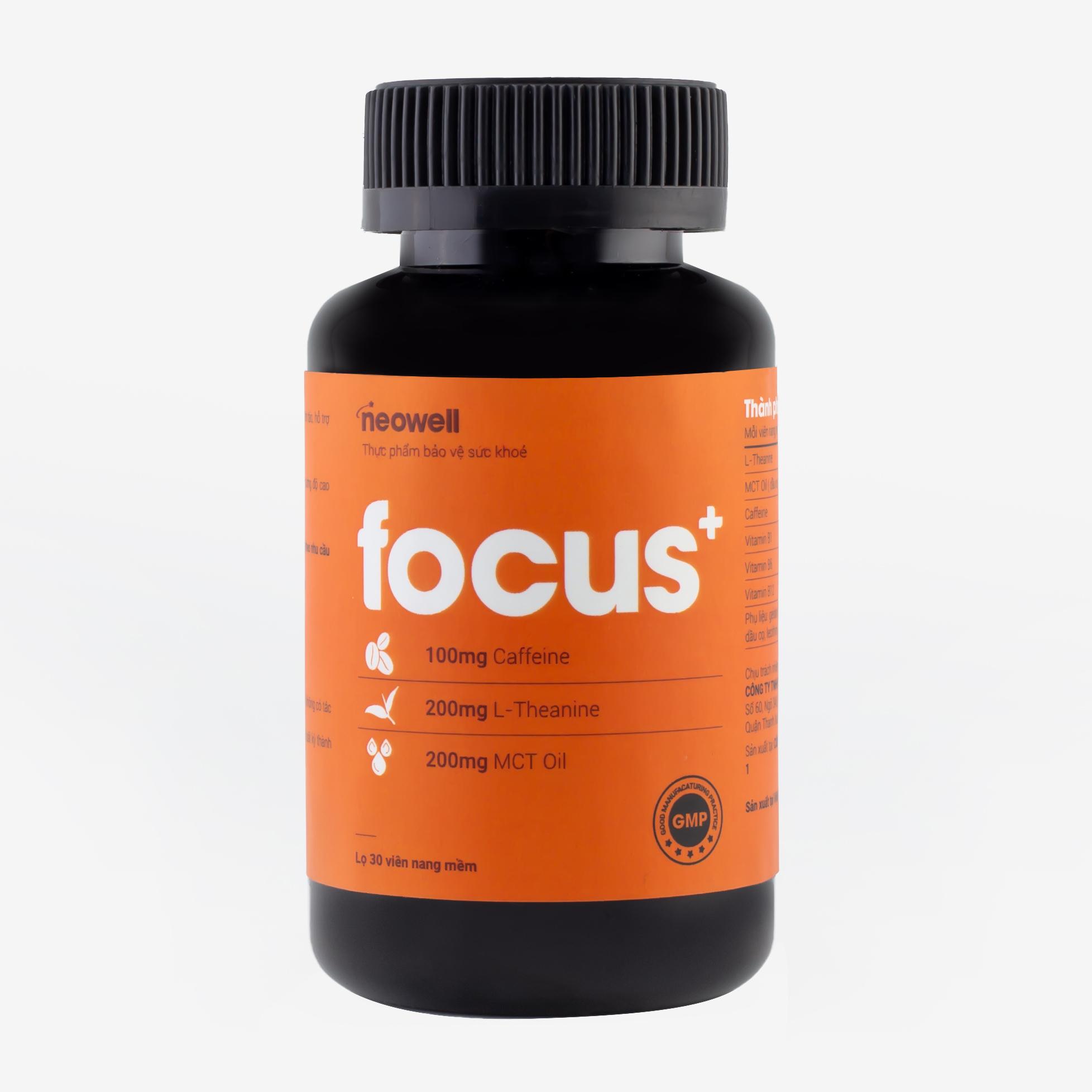 FOCUS+ - Sản phẩm giúp hỗ trợ tăng tỉnh táo, tập trung