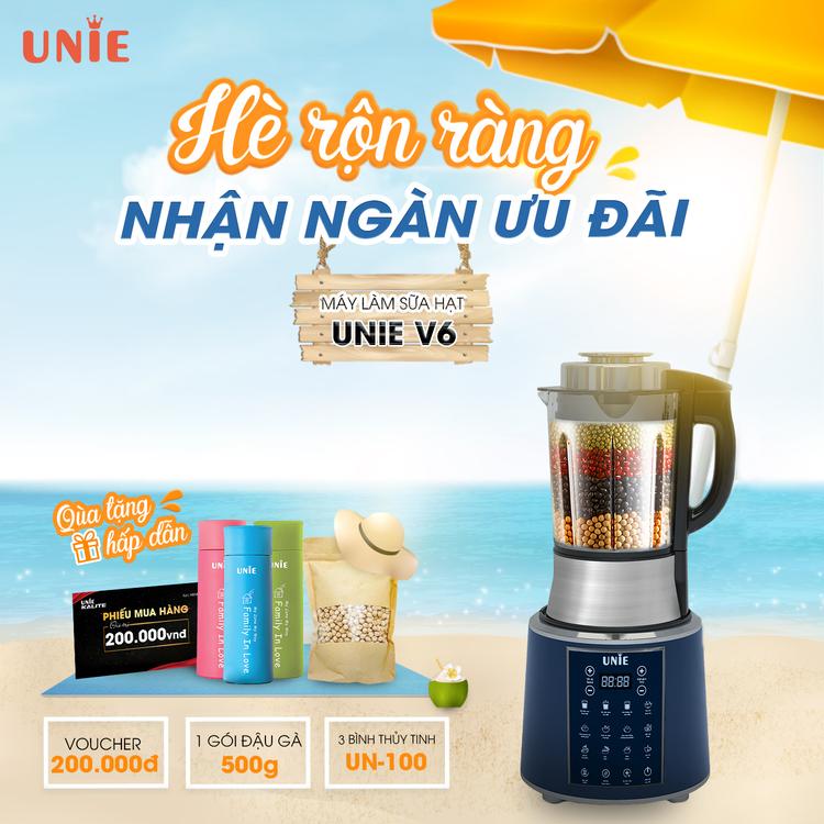 Máy Làm Sữa Hạt Unie V3 & V6s