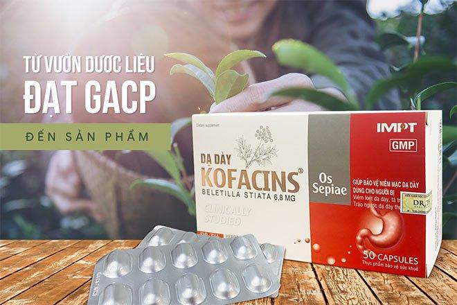 Dạ Dày KOFACINS - Chống Trào Ngược Dạ Dày, Bảo Vệ Niêm Mạc Dạ Dày