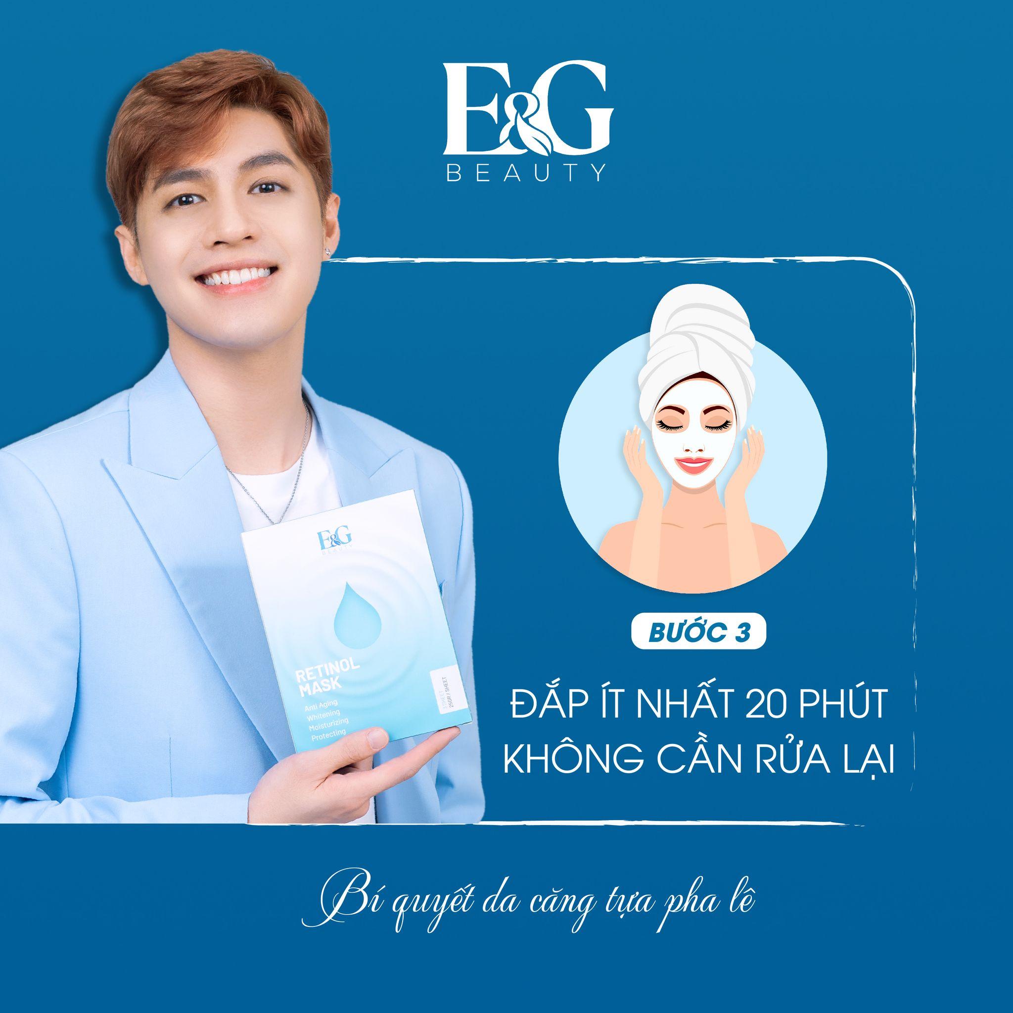 E&G Beauty - Mặt Nạ Retinol Dưỡng Trắng Cấp Ẩm