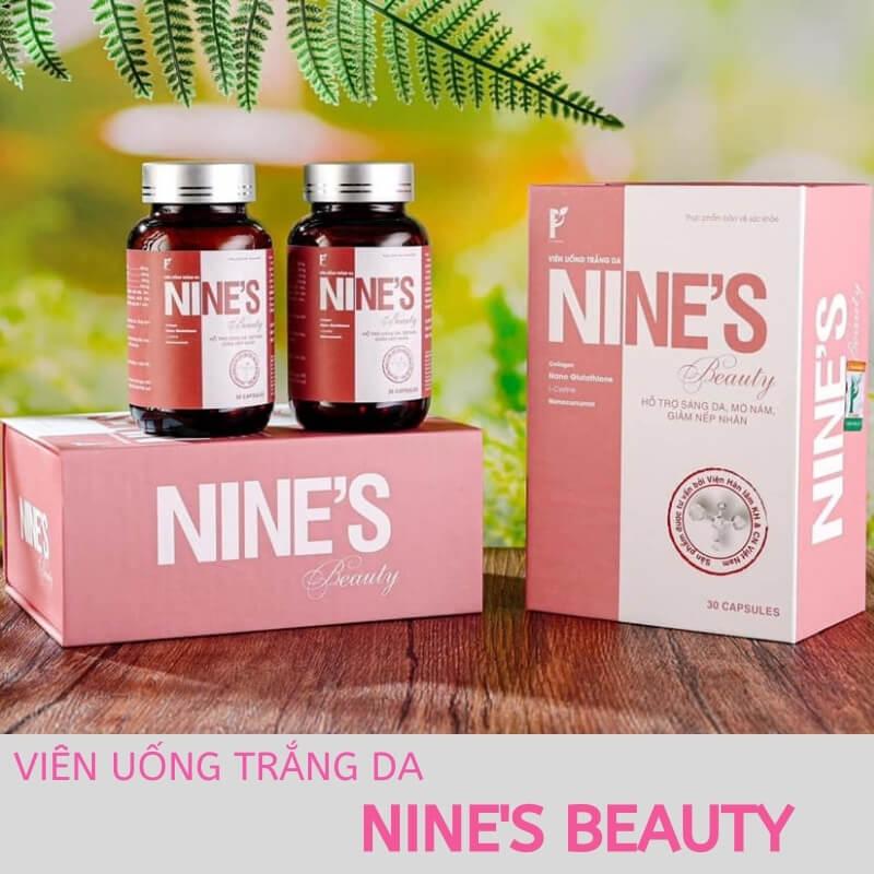 Viên Uống Trắng Da Nine's Beauty